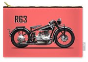 The R63 Motorcycle Carry-all Pouch by Mark Rogan