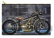 Bmw Vintage Motorcycle Carry-all Pouch