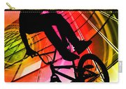 Bmx In Lines And Circles Carry-all Pouch
