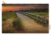Boardwalk Along The Beach At Sunset Carry-all Pouch