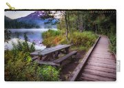 Boardwalk At Trillium Lake Carry-all Pouch