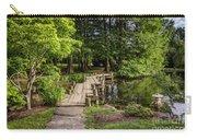Boardwalk Bridge Maymont Japanese Garden Carry-all Pouch
