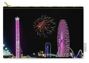 Boardwalk Fieworks At The Jersey Shore Carry-all Pouch