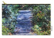 Boardwalk Through The Brambles Carry-all Pouch
