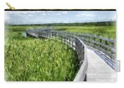 Boardwalk Through The Dunes Prince Edward Island Carry-all Pouch