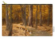 Boardwalk Through The Woods Carry-all Pouch