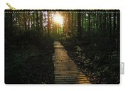 Boardwalk To The Sun Carry-all Pouch