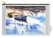 Boat And The River Carry-all Pouch