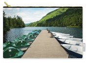 Boat Fun At Silver Lake Carry-all Pouch