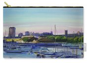 Boat Harbor At Dusk Carry-all Pouch