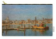 Boat Harbor Province Town Carry-all Pouch