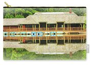 Boat House At Verona Park  Carry-all Pouch