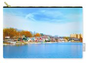 Boat House Row From West River Drive Carry-all Pouch