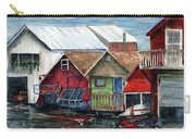Boat Houses On The Lake Carry-all Pouch