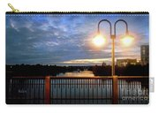 Boat Lights Sunset On Lady Bird Lake Carry-all Pouch