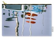 Boat Mast Water Reflection Carry-all Pouch
