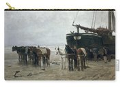 Boat On The Beach At Scheveningen Carry-all Pouch