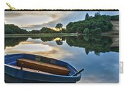 Boat On The Shore Of A Lake  Carry-all Pouch