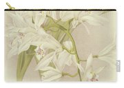 Boat Orchid  Cymbidium Carry-all Pouch