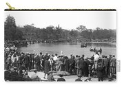 Boat Races In Central Park Carry-all Pouch