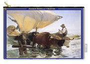 Boat Returning From A Fishing Trip Joaquin Sorolla Y Bastida Carry-all Pouch