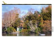 Boat Shed On The Waikato River Carry-all Pouch