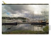 Boat Slips At Anacortes Marina In Washington State Carry-all Pouch