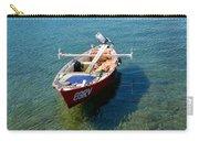 Boat Small Rovinj Croatia Carry-all Pouch