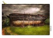 Boat - The Construction Of Noah's Ark Carry-all Pouch