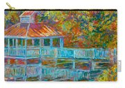 Boathouse At Mountain Lake Carry-all Pouch