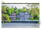 Boathouse Row - Framed In Spring Carry-all Pouch