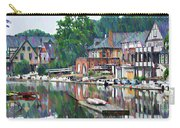 Boathouse Row In Philadelphia Carry-all Pouch