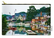 Boathouse Row In Philly Carry-all Pouch by Bill Cannon