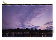 Boathouse Row In Twilight Carry-all Pouch