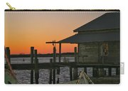 Boathouse Sunset Carry-all Pouch
