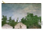 Boathouses With Sky And Trees Carry-all Pouch by Michelle Calkins
