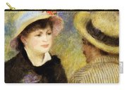 Boating Couple Aline Charigot And Renoir 1881 Carry-all Pouch
