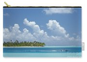 Boating In A Tahitian Lagoon Carry-all Pouch