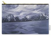 Boating Jenny Lake, Grand Tetons Carry-all Pouch