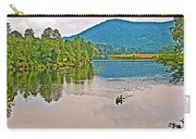 Boating On Connecticut River Between Vermont And New Hampshire Carry-all Pouch