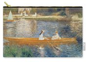 Boating On The Seine Carry-all Pouch