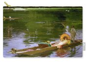 Boating Scene At Maidenhead Sir John Lavery Carry-all Pouch