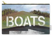 Boats- Art By Linda Woods Carry-all Pouch