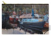 Boats At Dock Heriot Bay Inn Carry-all Pouch