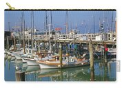 Boats At Fisherman Carry-all Pouch