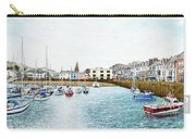Boats At Ilfracombe Harbour Carry-all Pouch