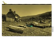Boats At Porlock Weir Carry-all Pouch