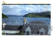 Boats At Portree Carry-all Pouch
