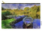 Boats At The Lake Carry-all Pouch