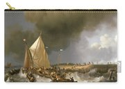 Boats In A Storm  Carry-all Pouch